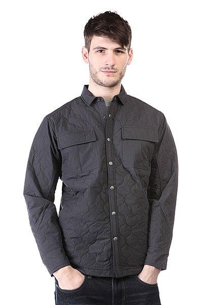 Куртка Burton Mb Hadley Jkt PhantomЛегкая куртка рубашечного кроя – то, что нужно для осенней или весенней погоды.Характеристики:Свободный крой. Внутренняя подкладка.2 прорезных кармана для рук. Классический воротник. 2 накладных кармана на груди.<br><br>Цвет: черный<br>Тип: Куртка<br>Возраст: Взрослый<br>Пол: Мужской