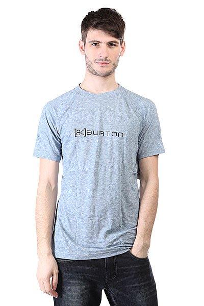 Термобелье (верх) Burton Ak Dr Wool Ss Crew Team Blue HeatherОднотонная термо футболка.Технические характеристики:Эластичная ткань с добавлением шерсти.Высокий уровень гигроскопичности.Устраняет неприятные запахи.Плоские швы.Логотип.<br><br>Цвет: синий<br>Тип: Термобелье (верх)<br>Возраст: Взрослый<br>Пол: Мужской