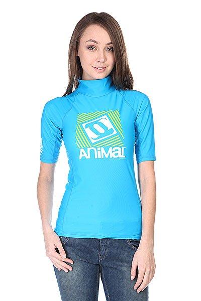 Купить Футболки   Гидрофутболка женская Animal Water Sleeve Aqua
