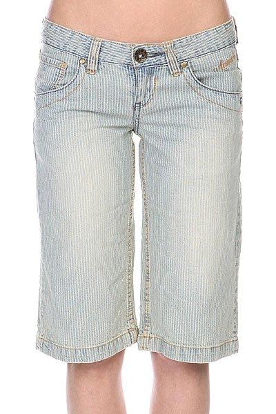 Шорты джинсовые женские Animal Denim Short Blue<br><br>Цвет: синий<br>Тип: Шорты джинсовые<br>Возраст: Взрослый<br>Пол: Женский