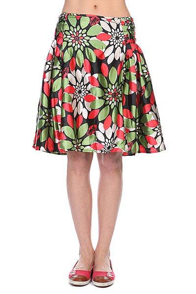 Юбка женская Animal Leo Skirt Red/Green<br><br>Цвет: красный,зеленый<br>Тип: Юбка<br>Возраст: Взрослый<br>Пол: Женский