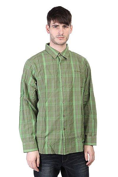 Рубашка Animal Husky Shirt Greeny<br><br>Цвет: зеленый<br>Тип: Рубашка<br>Возраст: Взрослый<br>Пол: Мужской