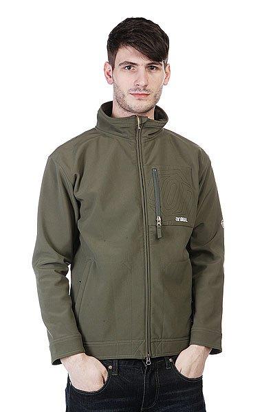 Толстовка Animal Jimmy Jacket Fleece Dark Green<br><br>Цвет: зеленый<br>Тип: Толстовка классическая<br>Возраст: Взрослый<br>Пол: Мужской