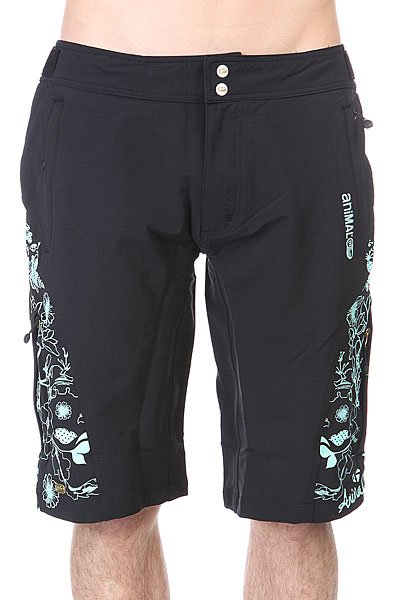 Шорты Animal Soft Shell Bike Short - Mid Weight. Sp904 Black шорты animal soft shell bike short mid weight true black