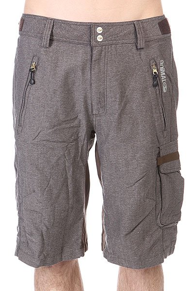 Шорты Animal Strtch/ Woven Bike Short - Heavy Weight. True Grey шорты animal soft shell bike short mid weight true black