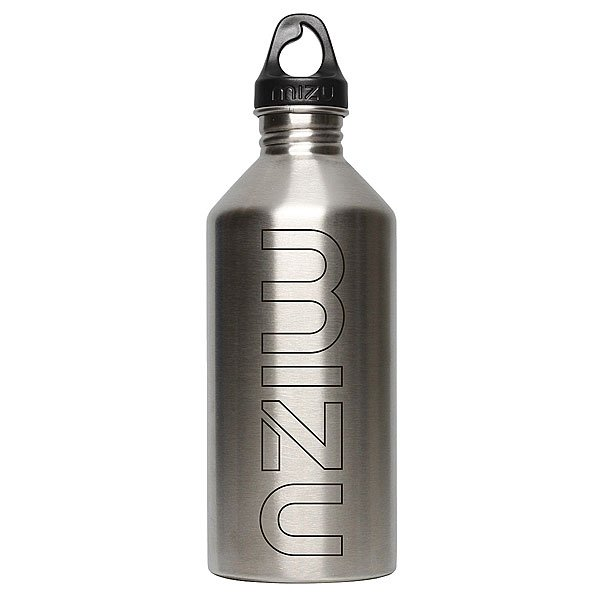 Бутылка для воды Mizu M12 1200ml Stainless Black Print