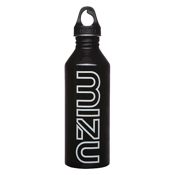 Бутылка для воды Mizu M8 800ml Glossy Black Gitd PrintБутылка из пищевой нержавеющей стали для тех, кто заботится об окружающей среде и своем здоровье. Характеристики:Объем бутылки 800мл. Размеры: 7см диаметр, 28см высота. Не для горячих жидкостей, многоразовая, пожизненная гарантия. Имеет специальную форму горлышка для аккуратного налива.<br><br>Цвет: черный<br>Тип: Бутылка для воды<br>Возраст: Взрослый