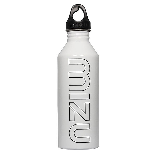 Бутылка для воды Mizu M8 800ml Glossy White/Black Print