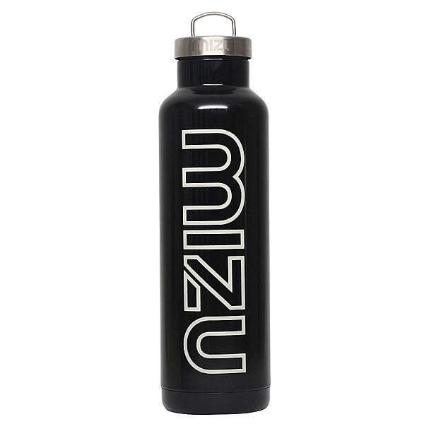 Бутылка для воды Mizu V8 800ml Glossy Black/White Print бутылка для воды mizu nixon м6 lock up glossy rose gold w black print o s
