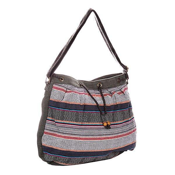 Сумка женская Dakine Dk Callie 15l LuxТехнические характеристики:  Верх из 100% хлопка.Внутренняя текстильная подкладка. Застежка – утяжка горловины.  Длинная регулируемая ручка  для ношения сумки через плечо.  Внутренний потайной карман на молнии. Форм-фактор – плечевая сумка (shoulder bag).<br><br>Цвет: мультиколор<br>Тип: Сумка<br>Возраст: Взрослый<br>Пол: Женский