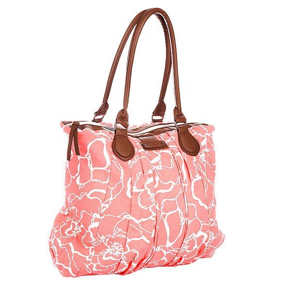Сумка женская Dakine Mallory 20l MatildaСтильная сумка неизменно привлечет внимание и подчеркнет ваш стиль.Характеристики: Внутренняя подкладка из хлопка.  Застежка – молния.  Потайной внутренний карман на молнии.  Две широкие ручки для ношения сумки в руках. Форм-фактор – плечевая сумка (shoulder bag).<br><br>Цвет: розовый<br>Тип: Сумка<br>Возраст: Взрослый<br>Пол: Женский