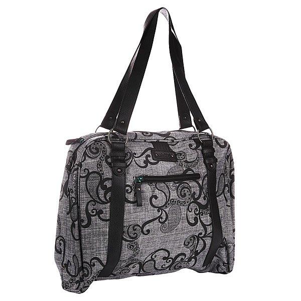 Сумка для ноутбука женская Dakine Carrie 17l JulietТехнические характеристики:  Верх из полиэстера.Внутренняя текстильная подкладка. Застежка – молния.  Две тонкие ручки для ношения сумки в руках/через плечо.  Внутренний потайной карман. Вместительное отделение для ноутбука.Форм-фактор – сумка для ноутбука.<br><br>Цвет: серый<br>Тип: Чехол для ноутбука<br>Возраст: Взрослый<br>Пол: Женский