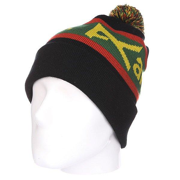 Шапка с помпоном Anon Mns Sampson Beanie Black<br><br>Цвет: черный,зеленый,желтый,красный<br>Тип: Шапка<br>Возраст: Взрослый<br>Пол: Мужской