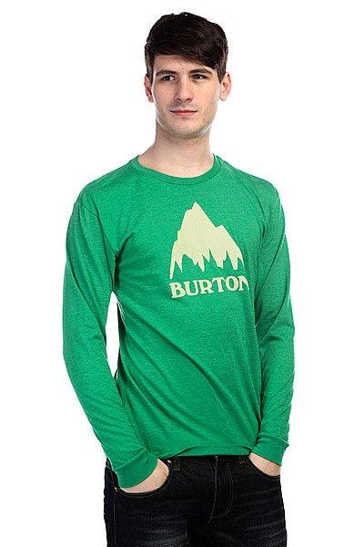 Лонгслив Burton Mb Clsc Mtn Ls Rpet Jelly Bean Heather<br><br>Цвет: зеленый<br>Тип: Лонгслив<br>Возраст: Взрослый<br>Пол: Мужской