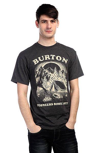 Футболка Burton Mb Pioneer Ss Rpet Phantom Heather<br><br>Цвет: серый<br>Тип: Футболка<br>Возраст: Взрослый<br>Пол: Мужской