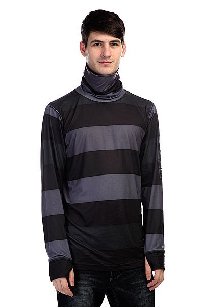 Термобелье (верх) Burton Mb Mdwt Long Neck 50 Shades Of Stripe