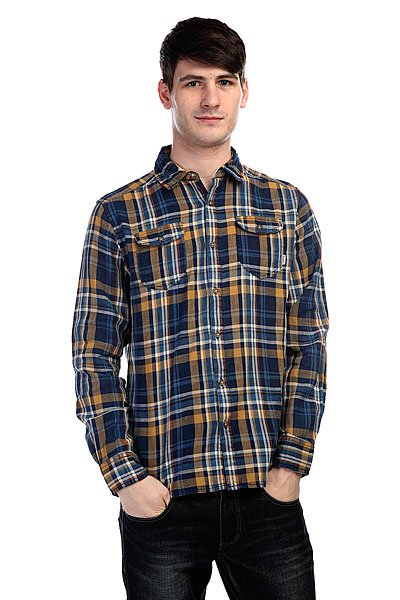 Рубашка в клетку Burton Mb Bf Willow Flnl Mens Bf Plaid