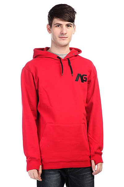 Толстовка сноубордическая Analog Crux Hoodie Red Rock<br><br>Цвет: красный<br>Тип: Толстовка сноубордическая<br>Возраст: Взрослый<br>Пол: Мужской