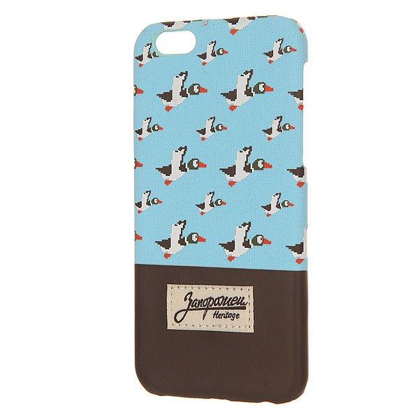 все цены на Чехол для iPhone Запорожец Дичь86 Iphone 6/6s Blue/Dark Brown онлайн