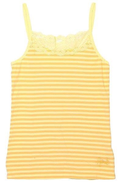 Майка женская Animal Georgia Strap Top Yellow<br><br>Цвет: желтый<br>Тип: Майка<br>Возраст: Взрослый<br>Пол: Женский