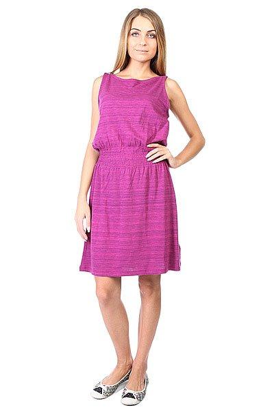 Платье женское Roxy Prarie Creek J Berry Ikat Bar Strip<br><br>Цвет: фиолетовый<br>Тип: Платье<br>Возраст: Взрослый<br>Пол: Женский