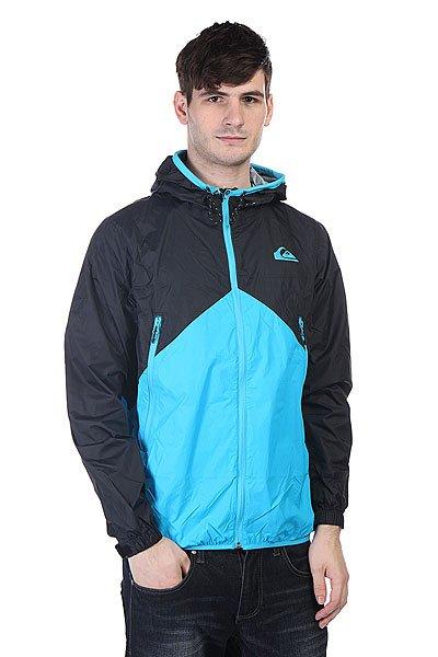 Ветровка Quiksilver New Wave Jacket Neon Blue