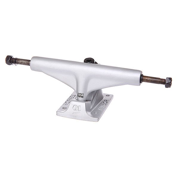 Подвеска дл скейтборда 1шт. Tensor Mag Light Reg Tens Silver 5.5 (21 см)Ширина подвесок: 5.5 (21 см)    Цена указана за 1 шт    Минимальное количество дл заказа 2 шт<br><br>Цвет: серый<br>Тип: Подвеска дл скейтборда