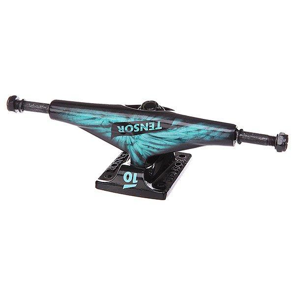 Подвеска для скейтборда 1шт. Tensor Alum Lo Tens Tie Dye Ice Blue 5.5 (21 см)Ширина подвесок: 5.5 (21 см)    Цена указана за 1 шт    Минимальное количество для заказа 2 шт<br><br>Цвет: черный,голубой<br>Тип: Подвеска для скейтборда
