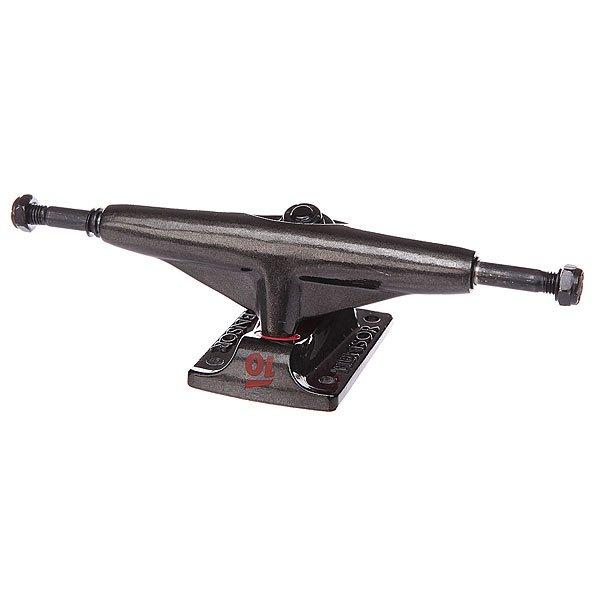 Подвеска для скейтборда 1шт. Tensor Alum Lo Tens Colored Clear Black 5.25 (20.3 см)Ширина подвесок: 5.25 (20.3 см)    Высота подвесок: 50 мм    Цена указана за 1 шт    Минимальное количество для заказа 2 шт<br><br>Цвет: черный<br>Тип: Подвеска для скейтборда