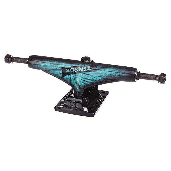 Подвеска для скейтборда 1шт. Tensor Alum Reg Tens Tie Dye Blue 5.75 (21.6 см)Ширина подвесок: 5.75 (21.6 см)    Высота подвесок: 56 мм    Цена указана за 1 шт    Минимальное количество для заказа 2 шт<br><br>Цвет: черный,голубой<br>Тип: Подвеска для скейтборда