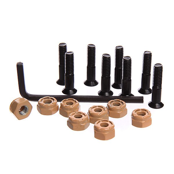 Винты для скейтборда Almost Nuts & Bolts In Your Mouth Hardware Allen Black/Beige Allen 7.8