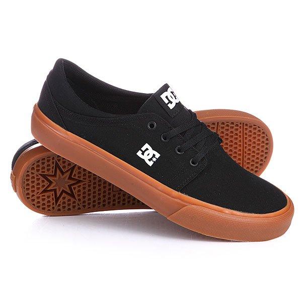Кеды кроссовки DC Trase Tx Black/Gum dc shoes кеды dc heathrow se 11