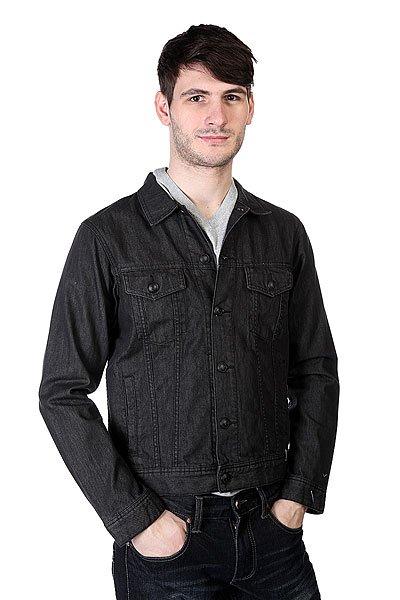 Куртка джинсовая Quiksilver Dead Water Black Anthracite
