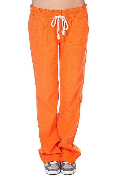 Штаны широкие женские Roxy Oceanside Pant J Persimmon