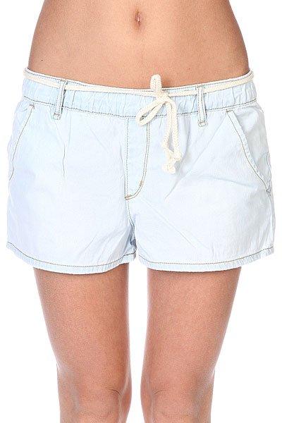 Шорты женские Roxy Beachy Beach Sh J Vintage Bleach<br><br>Цвет: голубой<br>Тип: Шорты<br>Возраст: Взрослый<br>Пол: Женский