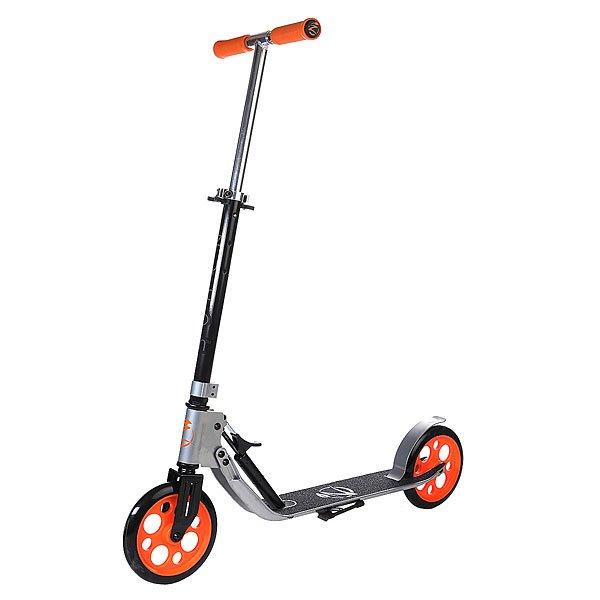 Самокат Zycom Easy Ride 200 Hydraulic Folding Scooter Silver/Orange