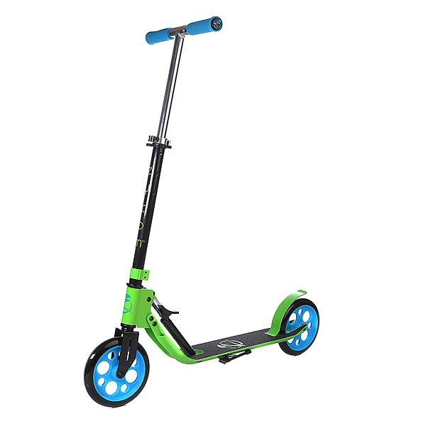 Самокат Zycom Easy Ride 200 Hydraulic Folding Scooter Green/Blue