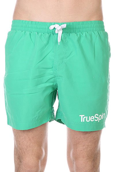 Шорты пляжные TrueSpin Swimming Shorts Splash One Green