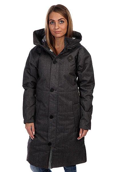 Пальто женское Burton Wb Eden Jkt Dark Ash Heather