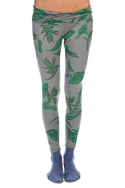 Термобелье (низ) женское Burton Wb Eclipse Legging Dark Ash/Heather Hawaiian