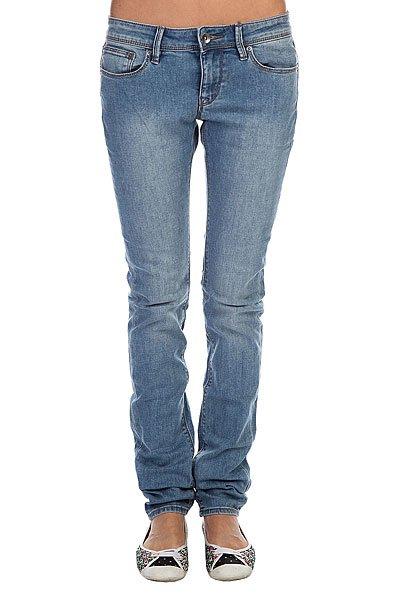 Джинсы прямые женские Roxy Suntrippers Vw J Vintage Med BlueЖенские джинсы Suntrippers от ROXY.Характеристики:Плотность ткани: 238 г/кв. м. Цветной деним.Легкая обработка «под винтаж». Кожаная нашивка ROXY на заднем кармане.Облегающий крой.<br><br>Цвет: голубой<br>Тип: Джинсы прямые<br>Возраст: Взрослый<br>Пол: Женский