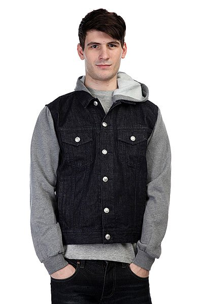 Куртка джинсовая Quiksilver Deadwaterfla Ri Bsnw Rinse