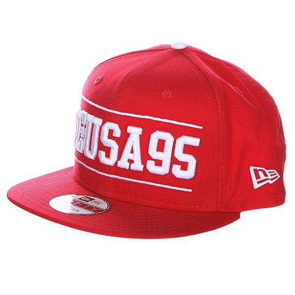 Бейсболка DC Champion Hats Athletic Red