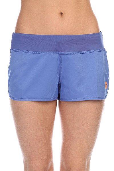 Шорты пляжные женские Roxy Cruisin 2 J Bdsh Chambray<br><br>Цвет: голубой<br>Тип: Шорты пляжные<br>Возраст: Взрослый<br>Пол: Женский