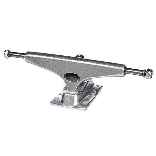 Подвеска 1шт. для скейтборда Krux K4 Silver 8.25 (21 см)Ширина подвесок: 8.25 (21 см)    Высота подвесок: 57 мм    Цена указана за 1 шт    Минимальное количество для заказа 2 шт<br><br>Цвет: серый<br>Тип: Подвеска для скейтборда