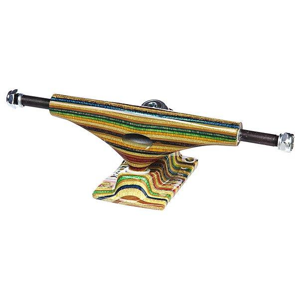 Подвеска 1шт. для скейтборда Krux Hollow Forged Yes Comply Multicolor 8 (20.3 см)Ширина подвесок: 8 (20.3 см)    Высота подвесок: 55 мм    Цена указана за 1 шт    Минимальное количество для заказа 2 шт<br><br>Цвет: мультиколор<br>Тип: Подвеска для скейтборда