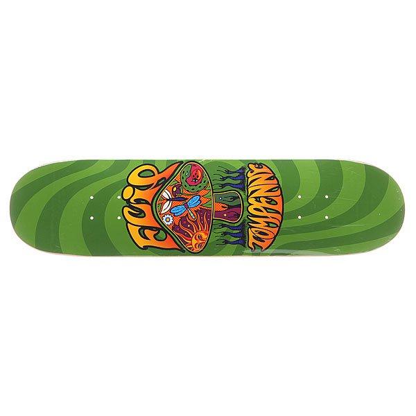 Дека для скейтборда для скейтборда Flip S5 Penny Love Shroom Green 31.63 x 7.75 (19.7 см)