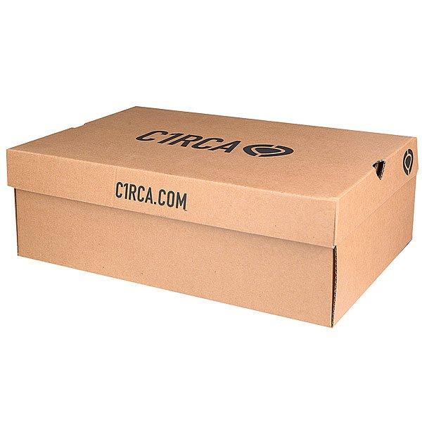 Кеды кроссовки низкие Circa Jc01 Black/White