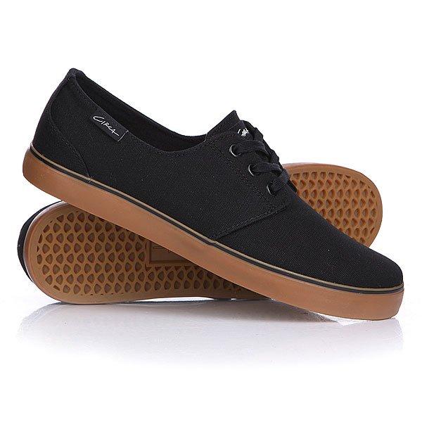 Кеды кроссовки низкие Circa Crip Black/Gum