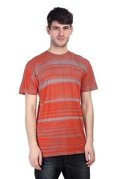 Футболка Altamont Atomic Texture Orange<br><br>Цвет: оранжевый,серый<br>Тип: Футболка<br>Возраст: Взрослый<br>Пол: Мужской
